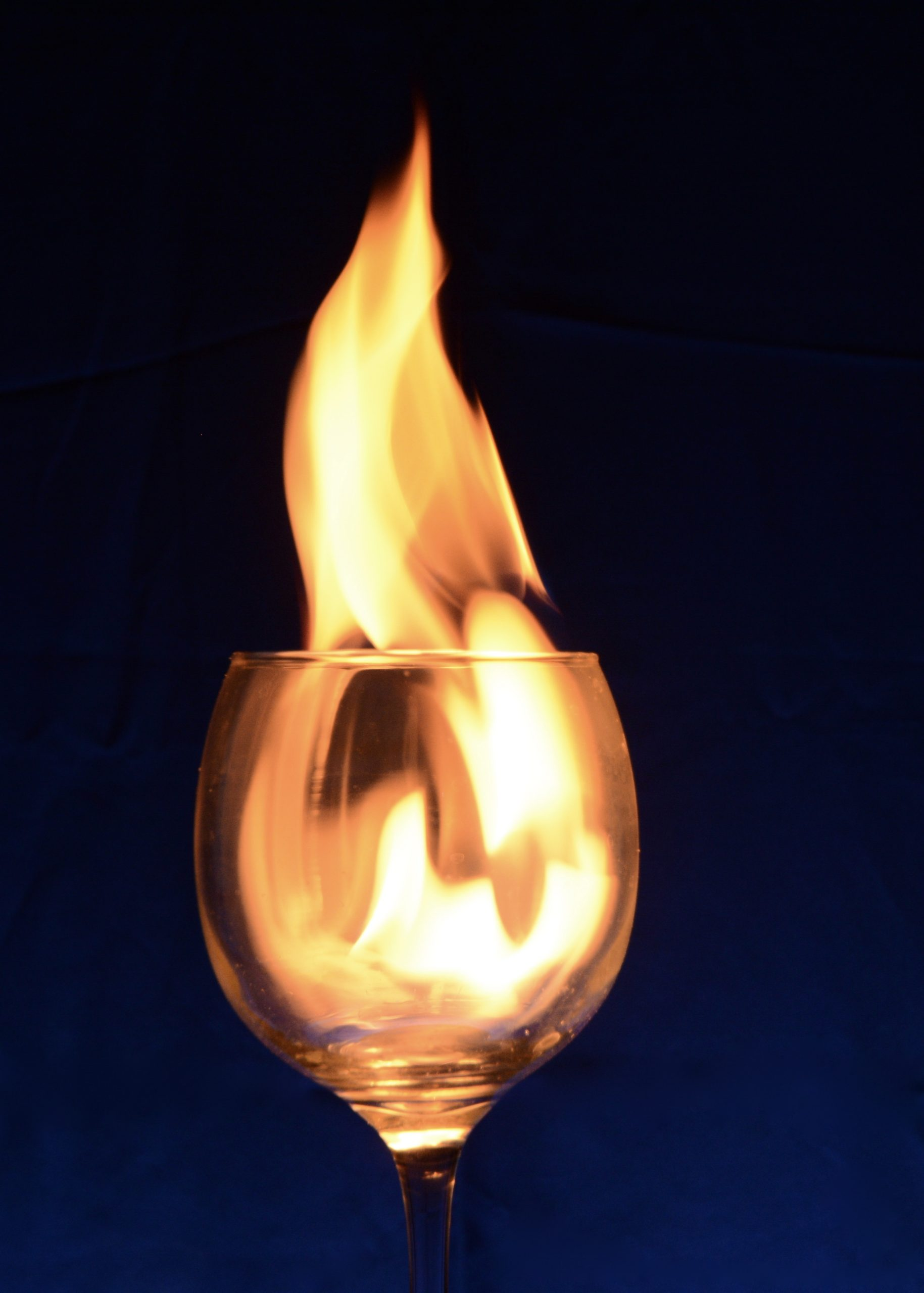 glass of fire