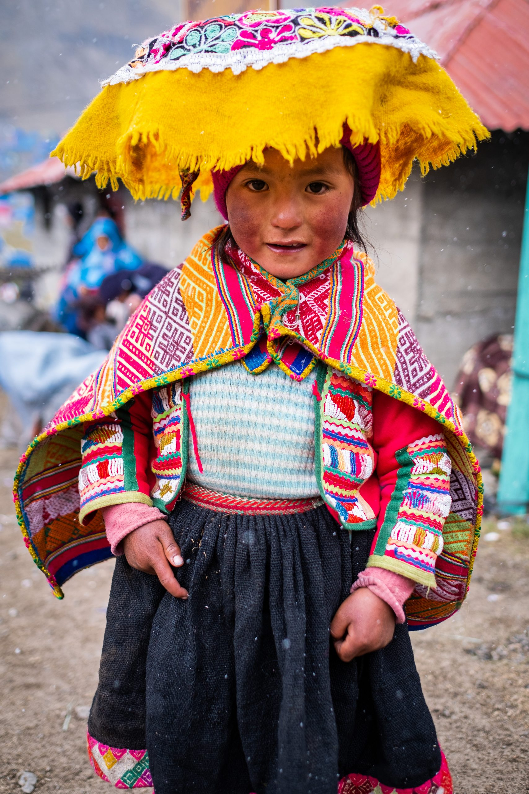 young girl at quyllurit i