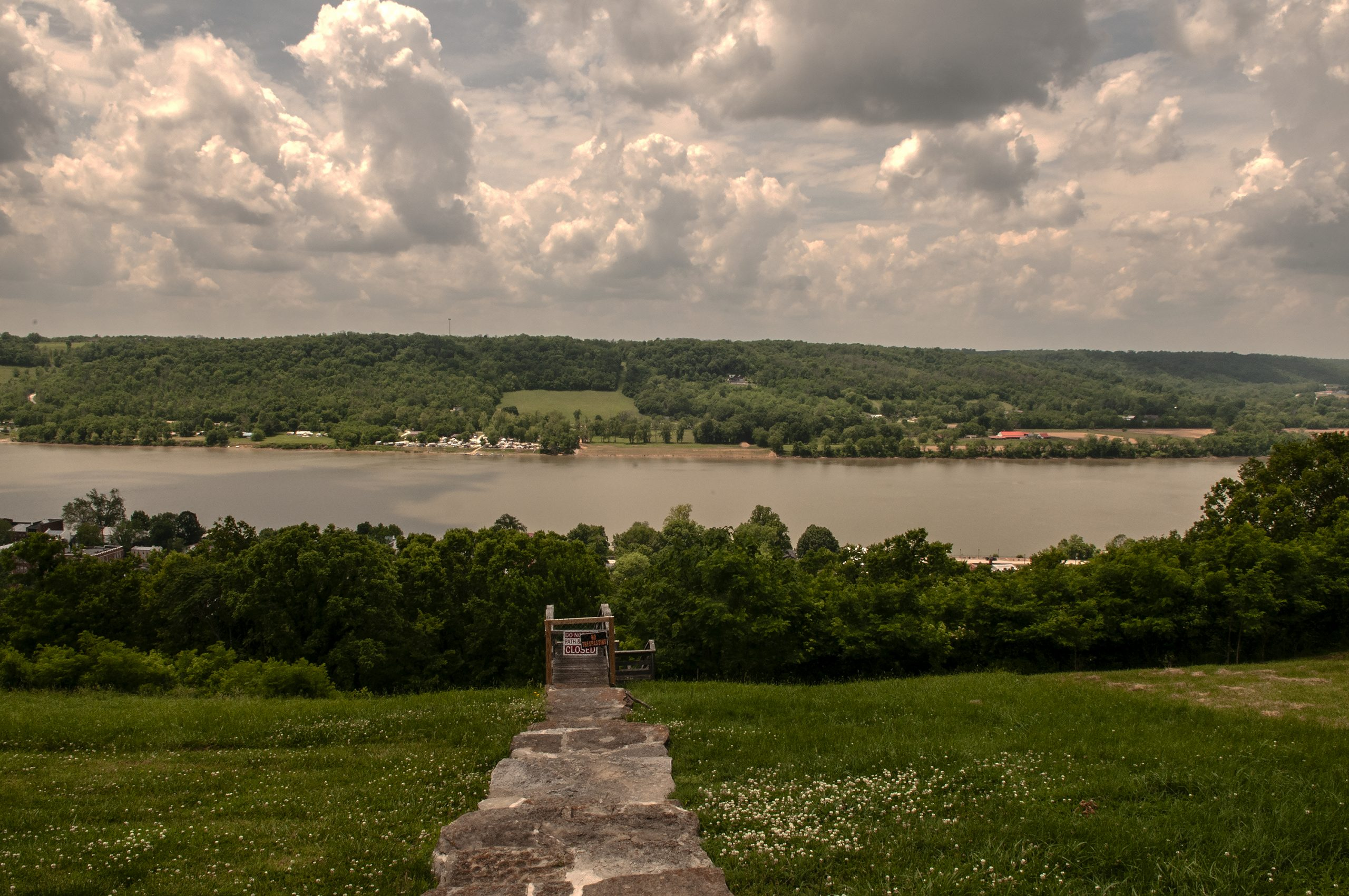 view of dover kentucky from rankin house