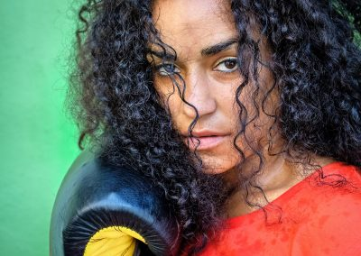 Kelly Marley - Power of the Female Boxer