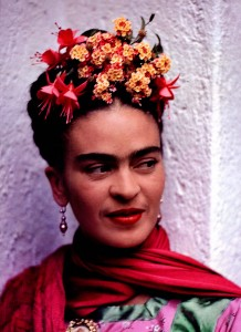 Nickolas Muray, Frida in Pink and Green Blouse